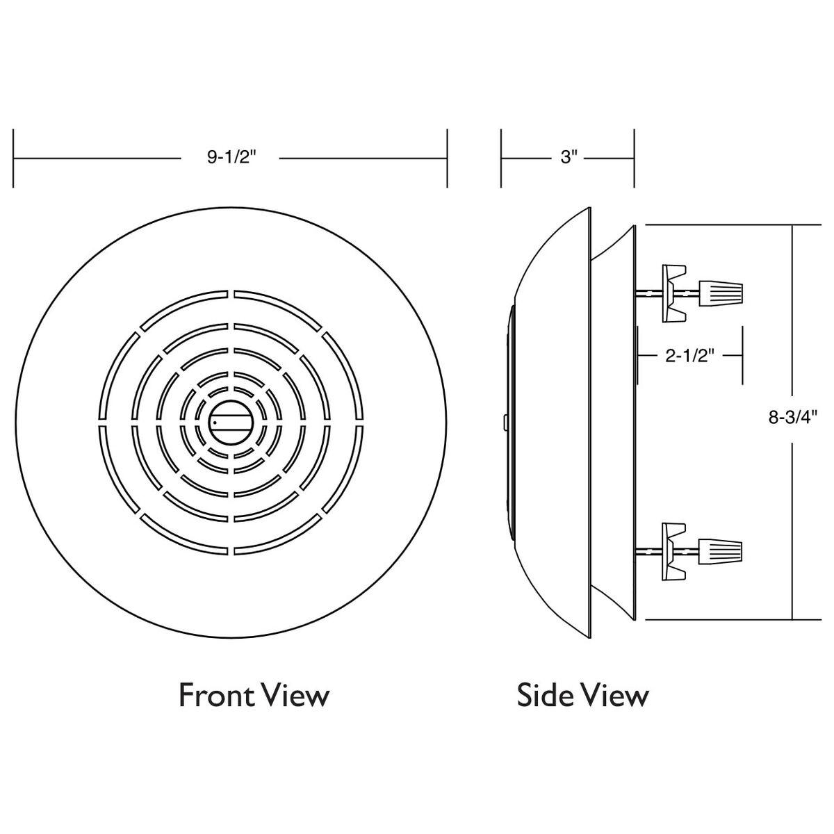 Bogen SM1EZ Surface Mount Ceiling Speaker