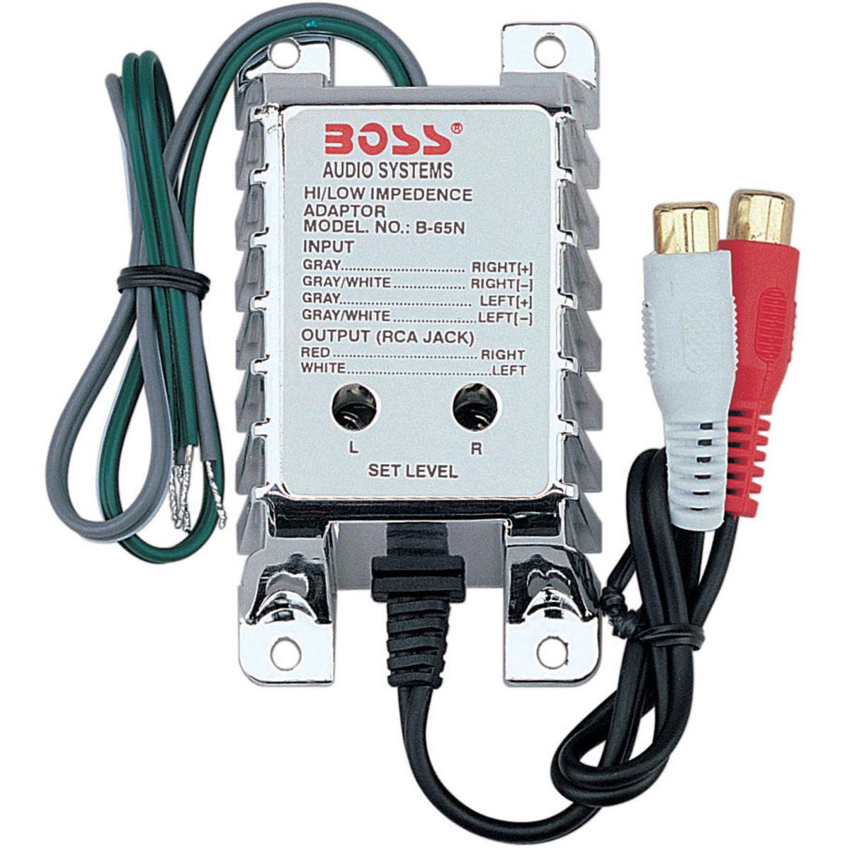 BOSS B65N Speaker Level to Line Level Output Converter