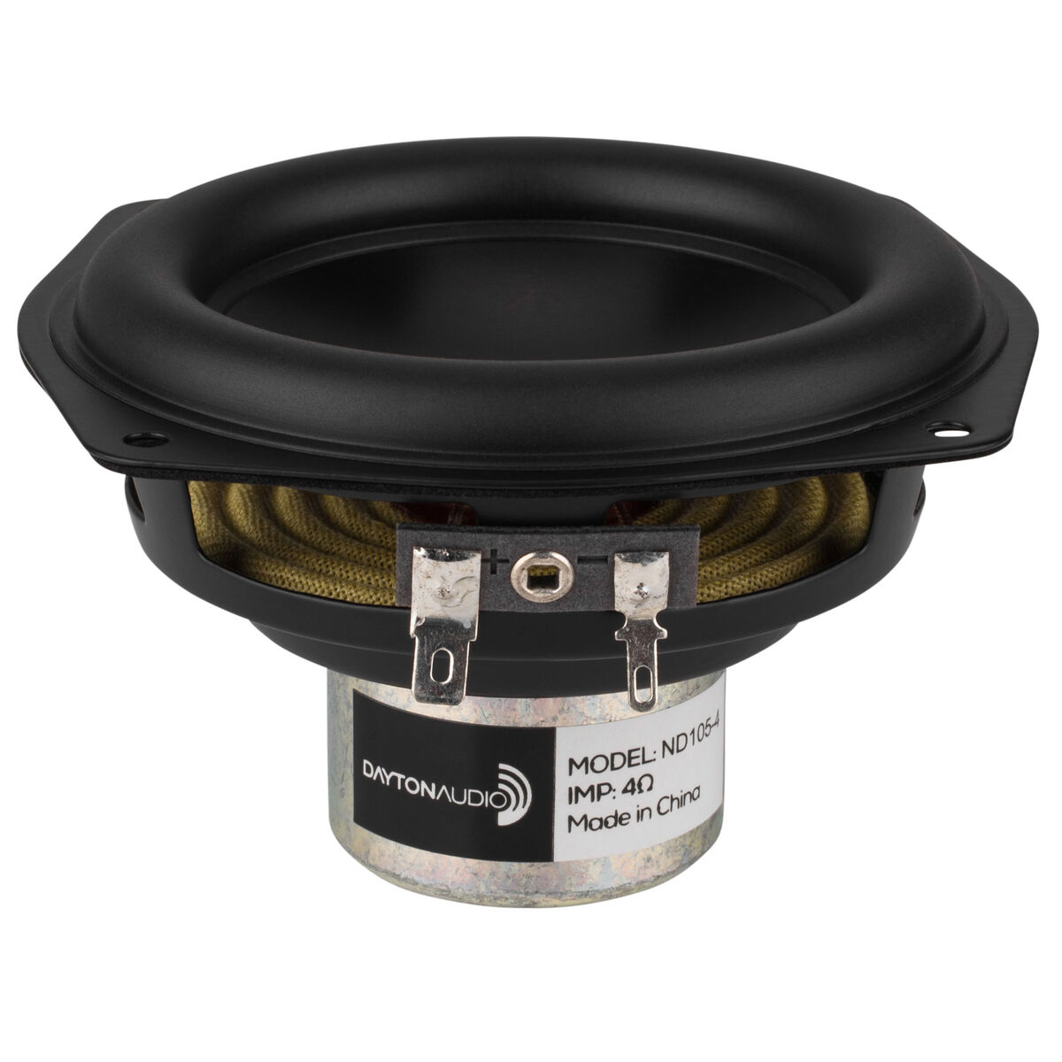 Dayton Audio ND140-4 5-1//4 Aluminum Cone Midbass Neo Driver 4 Ohm