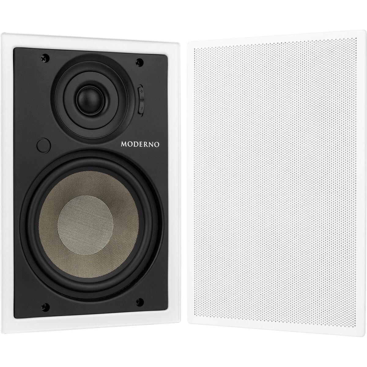Moderno M6 6 1 2 In Wall Speaker Pair
