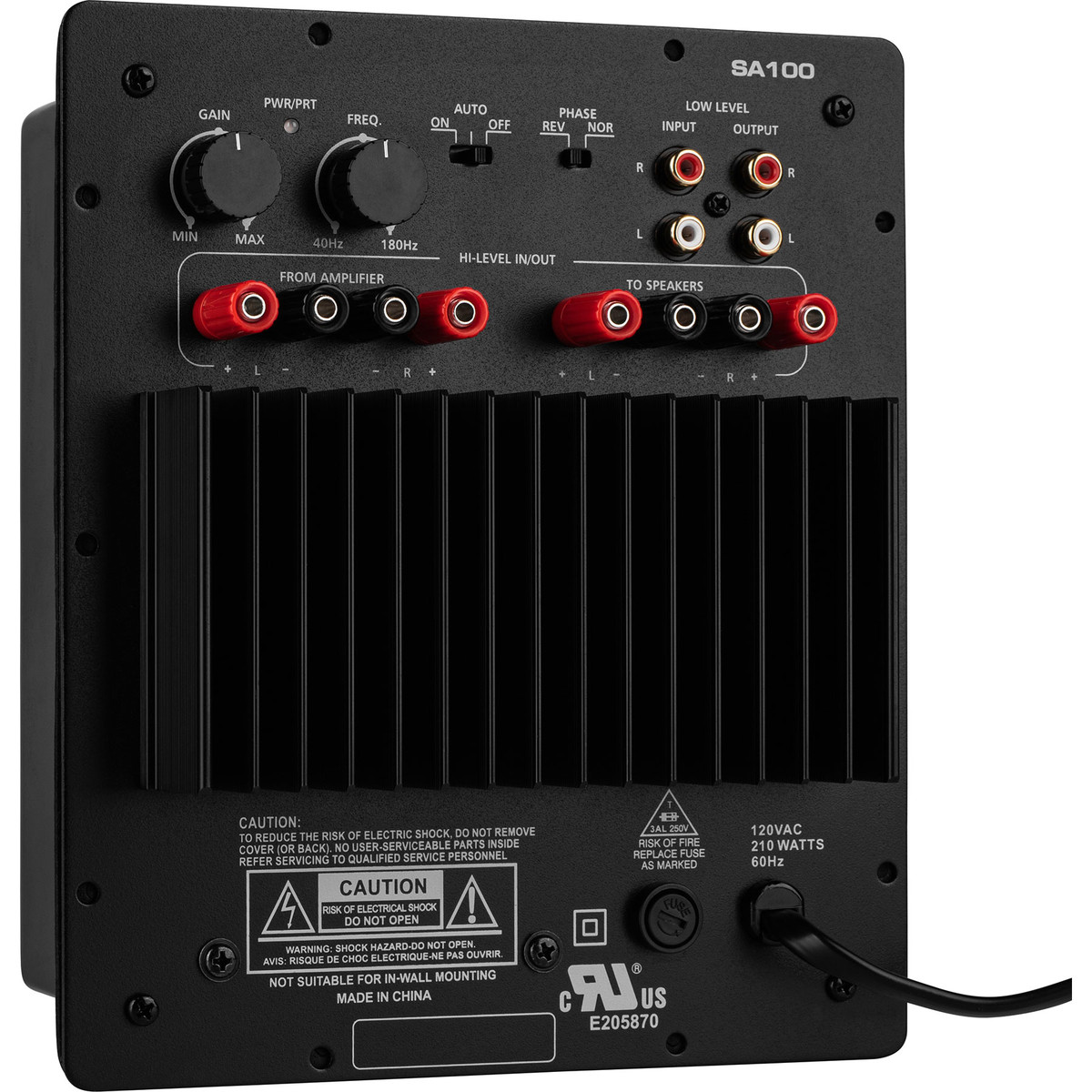 Dayton Audio SA100 100W Subwoofer Plate Amplifier