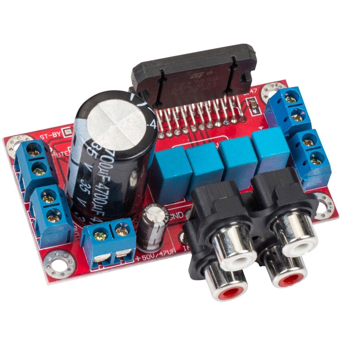 TDA7850 4x50W Bluetooth 5.0 Power Amplifier Audio Class AB HiFi Stereo Amplifier