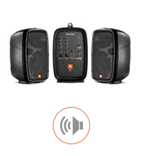 Jbl Eon206p Portable Pa System 6 1 2 Quot 2 Way With 6 Channel