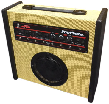 Build Your Own FootNote Guitar Combo Amp - Components Only